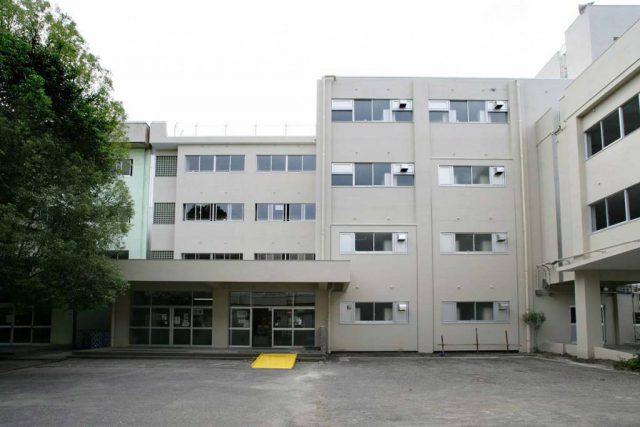 愛甲小学校西棟校舎外壁改修工事