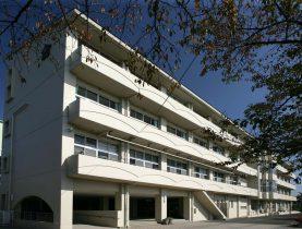 相川小学校校舎棟南側外壁・屋根改修工事